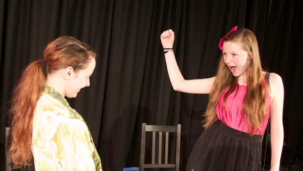 Teechers drama coursework