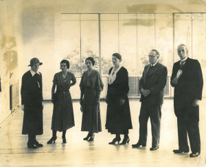 Opening of new art room-1935