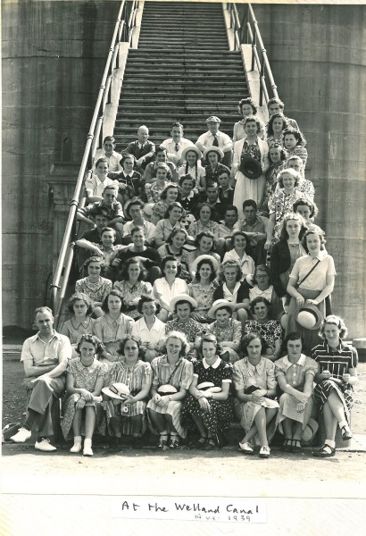Welland Canal 1939