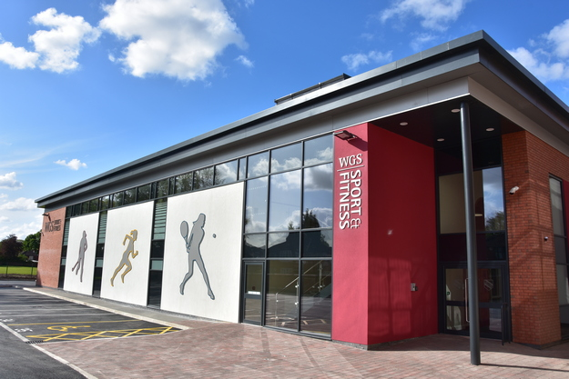 New Sports and Fitness Centre at Withington Girls' School