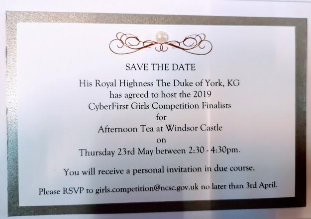 Tea at Windsor Castle - Withington Girls' School